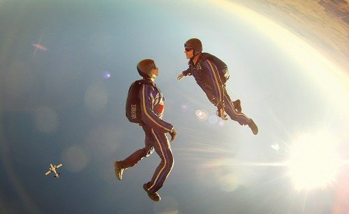Skydiving instructor