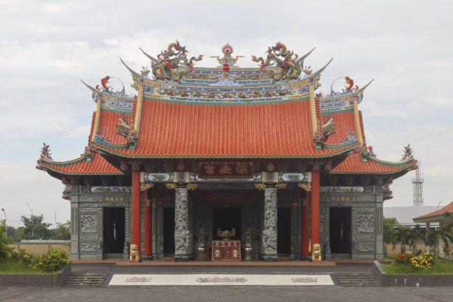 Denpasar Bali Indonesia Vihara Satya Dharma Chinese Temple 02