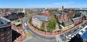 Harvard square harvard yard