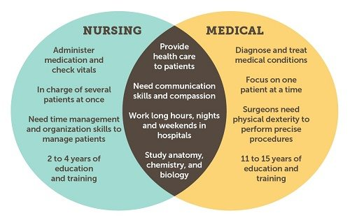 What Is The Difference Between A Nursing Degree And A