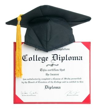 diploma pin