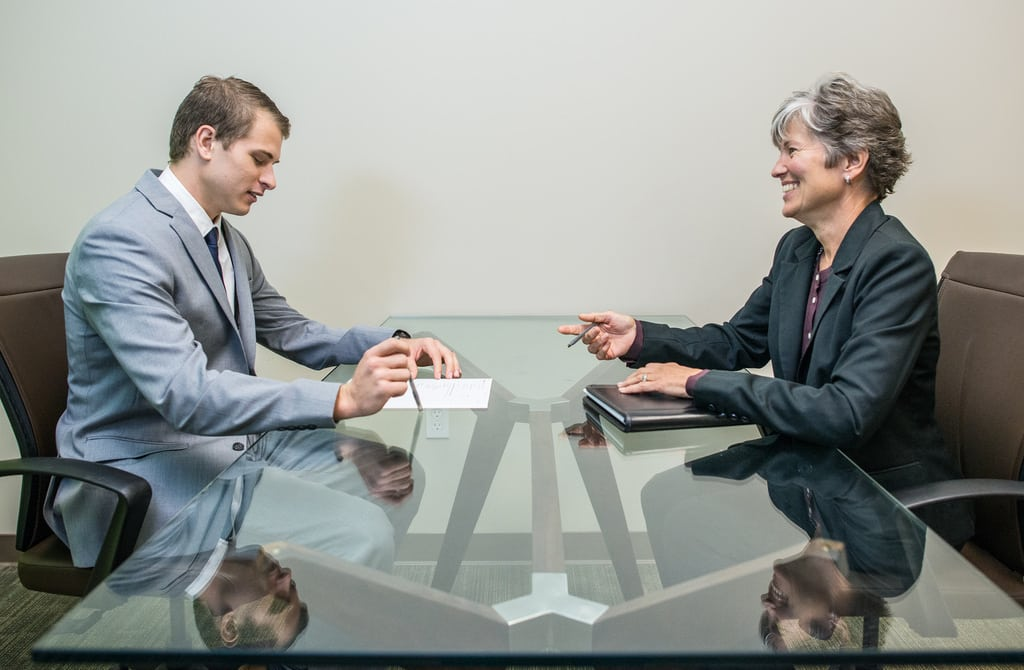 job interview flickr