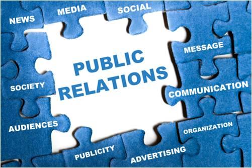 public relations clip