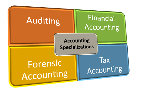 Specializations in Master's Degree in Accounting Programs