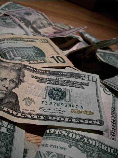 us dollars clip
