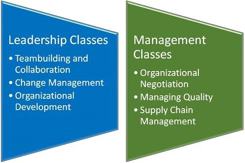 What Classes Will I Have to Take for a Degree in Leadership and Management?
