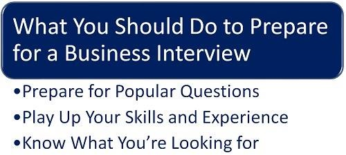 What Should You Know When You Interview for a Job With a Degree in Business  Administration?