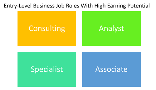 highest paying entry level business jobs