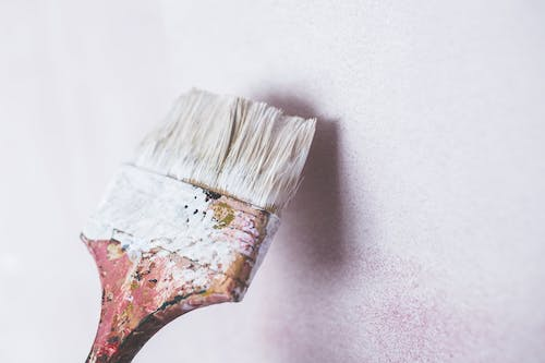 art wall brush painting