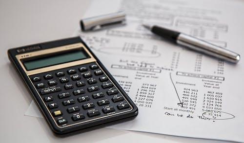 calculator calculation insurance finance 53621
