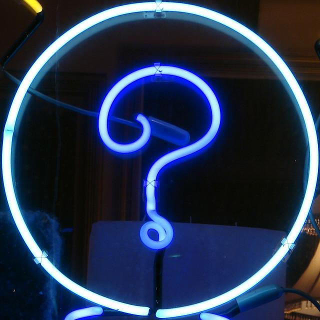 question mark flickr