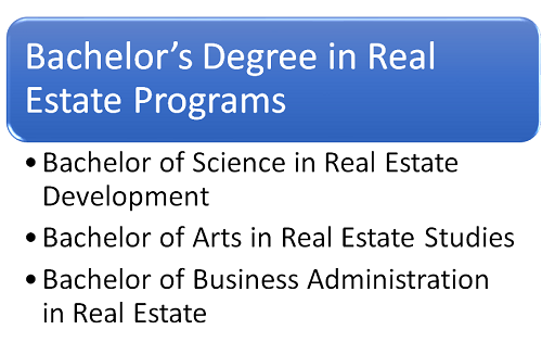 bachelors in real estate graphic
