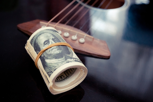 What is the Median Salary for a Composing Artist