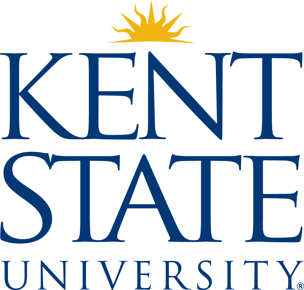 kent state university stacked 2 color
